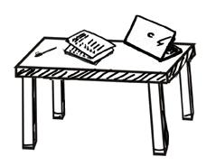 Tisch-EInzel