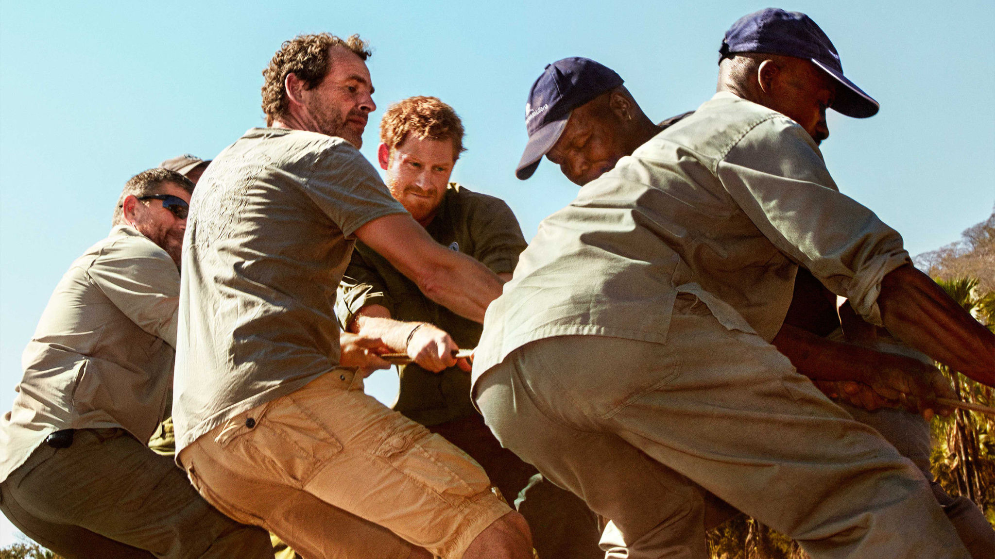 Prince Harry gets his hands dirty on a volunteering project in Africa, contact us for similar opportunities.